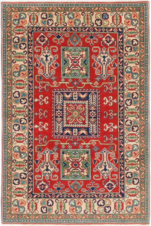 Red 4 X 6 Kazak Rug Oriental Rugs Irugs Uk