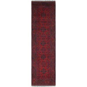 2' 8 x 10' Khal Mohammadi Runner Rug