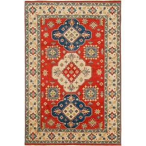 Unique Loom 6' x 9' Kazak Rug