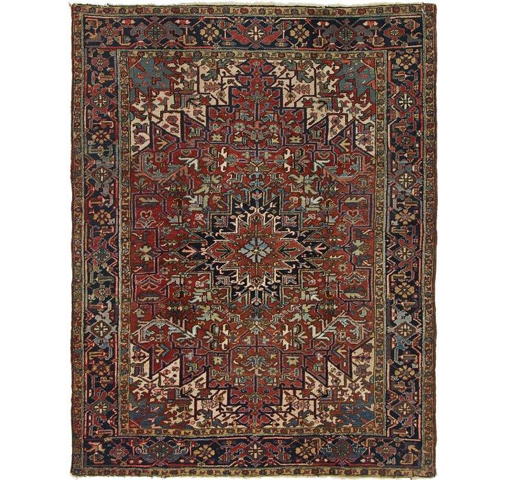 6' 8 x 8' 5 Heriz Persian Rug