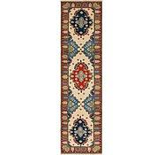 Link to 75cm x 297cm Kazak Oriental Runner Rug