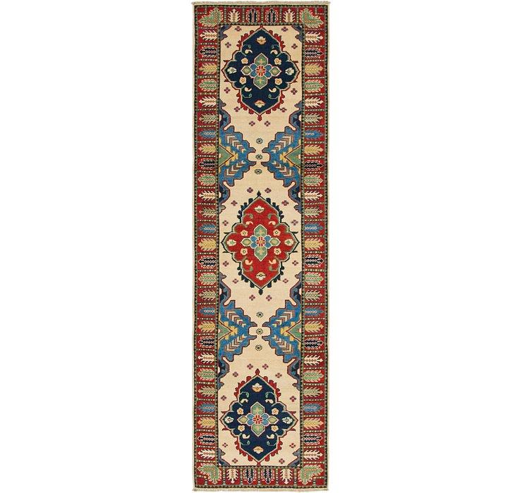 2' 6 x 9' 9 Kazak Oriental Runner Rug