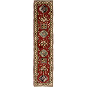 Link to 80cm x 385cm Kazak Runner Rug item page