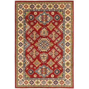 Unique Loom 6' 6 x 9' 9 Kazak Rug