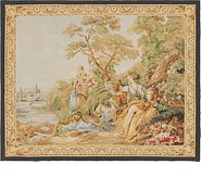 Link to 4' 8 x 5' 9 Tapestry Square Rug