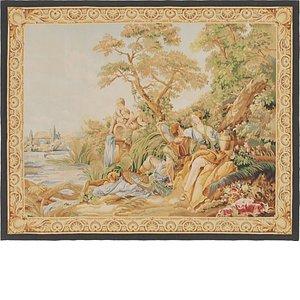 4' 8 x 5' 9 Tapestry Square Rug