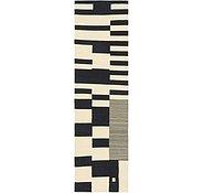Link to 2' 9 x 9' 8 Kilim Modern Runner Rug