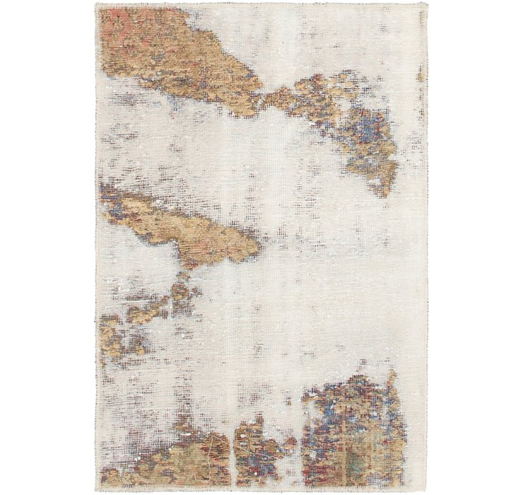 2' 3 x 3' 4 Ultra Vintage Persian Rug