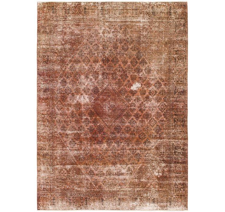 8' 5 x 12' Ultra Vintage Persian Rug