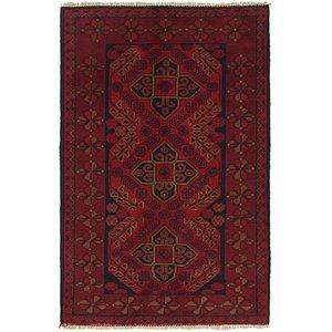 2' 7 x 4' Khal Mohammadi Rug