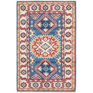 Link to 2' 7 x 4' 2 Kazak Rug item page