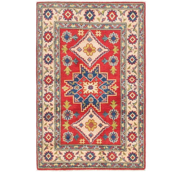 2' 8 x 4' 3 Kazak Rug