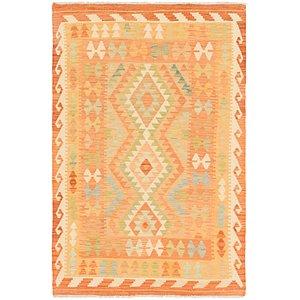 Link to 3' 3 x 5' Kilim Waziri Rug item page
