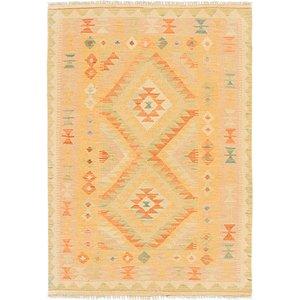 Link to 3' 4 x 4' 10 Kilim Waziri Rug item page