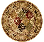 Link to 7' 10 x 7' 10 Bakhtiar Round Rug