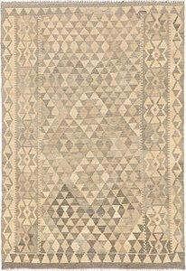 Link to 4' 3 x 6' 2 Kilim Waziri Rug item page