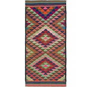 Link to 4' 7 x 10' Kilim Fars Runner Rug