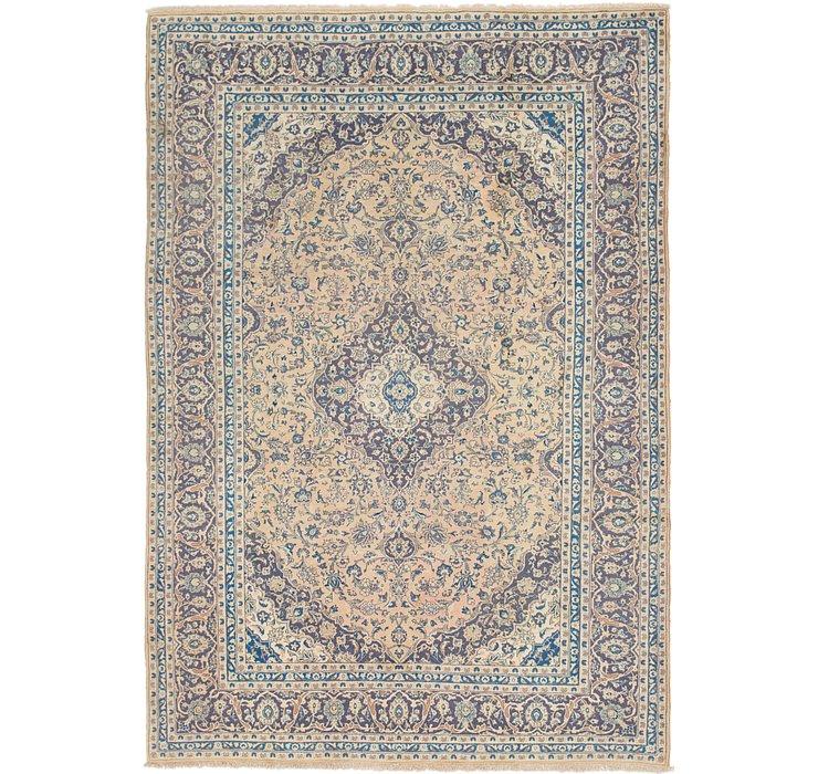 8' x 11' 6 Kashan Persian Rug