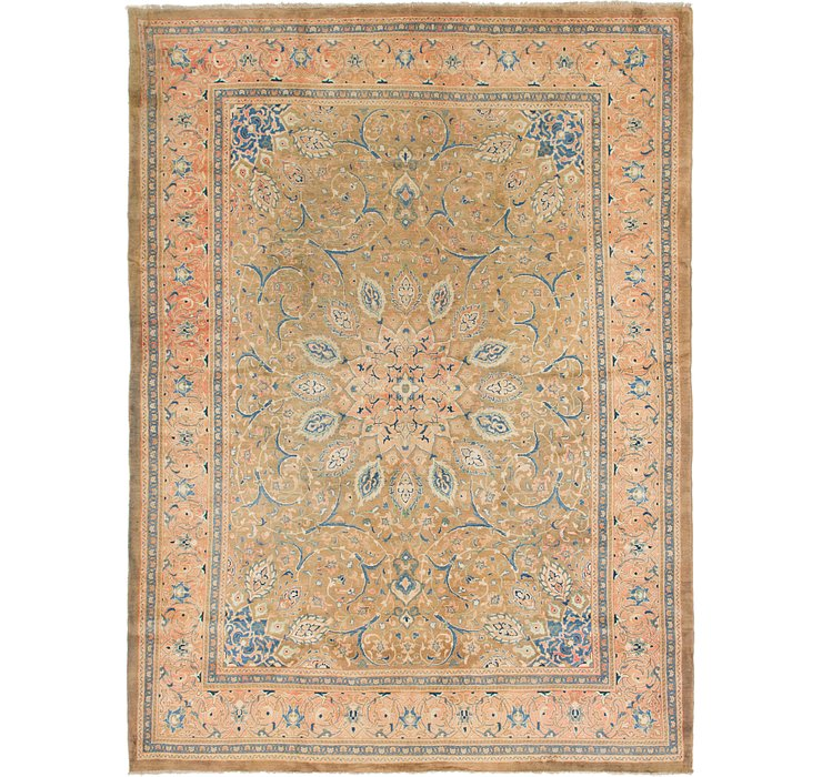 HandKnotted 9' 8 x 13' Mahal Persian Rug