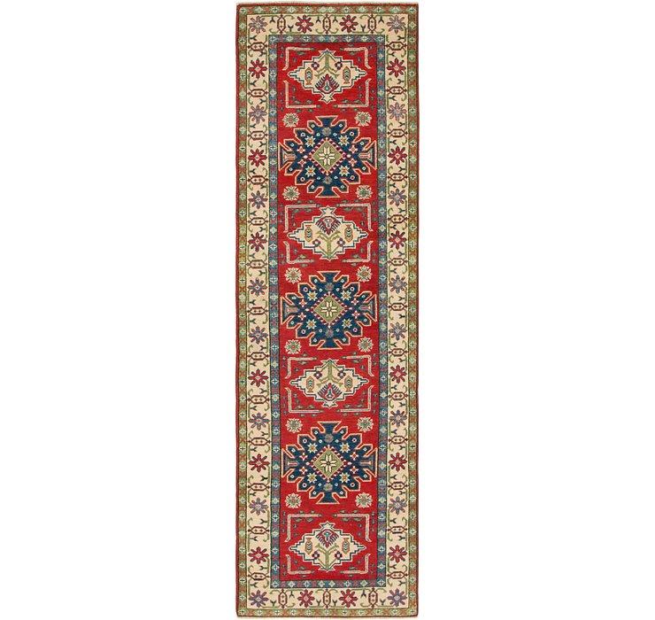 2' 7 x 9' 7 Kazak Runner Rug