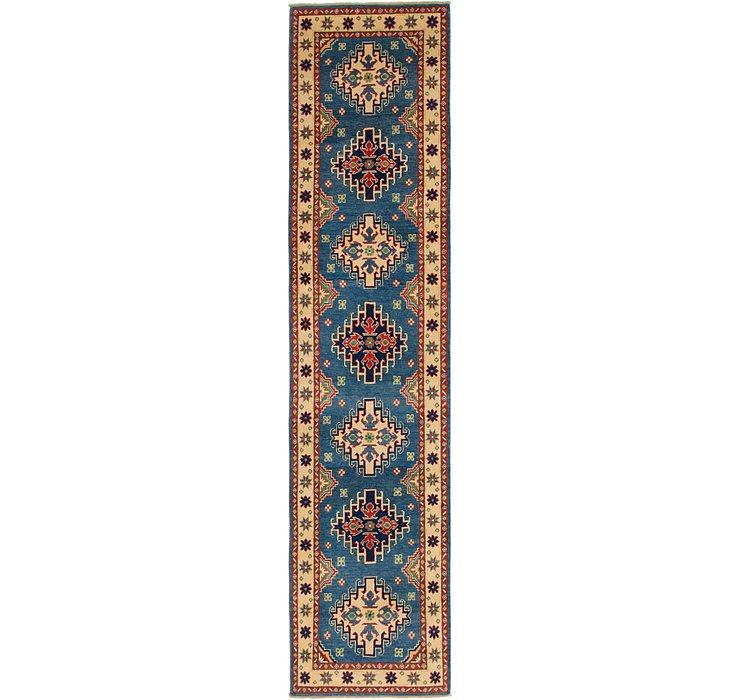 2' 9 x 11' 8 Kazak Runner Rug