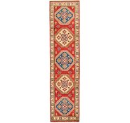 Link to HandKnotted 2' 6 x 10' 6 Kazak Runner Rug