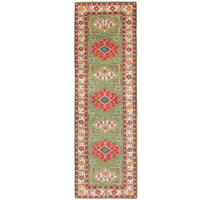 2' 8 x 9' Kazak Runner Rug