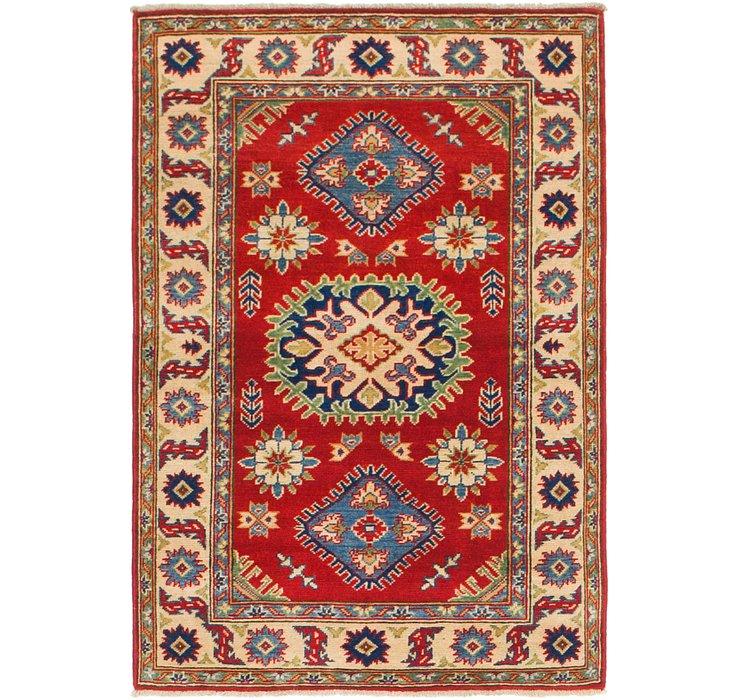 3' x 4' 6 Kazak Rug