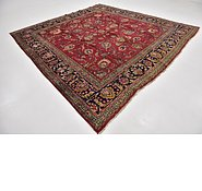 Link to 9' 9 x 10' 8 Tabriz Persian Square Rug