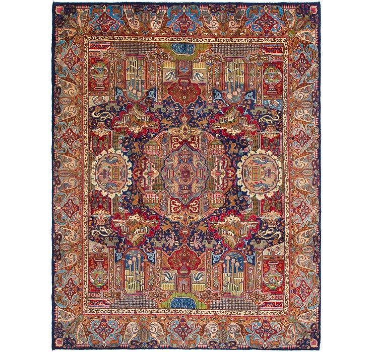 9' 10 x 12' 7 Kashmar Persian Rug