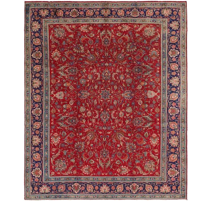10' 2 x 12' 5 Tabriz Persian Rug