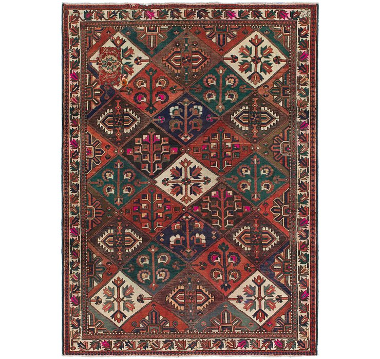 7' 3 x 10' Bakhtiar Persian Rug