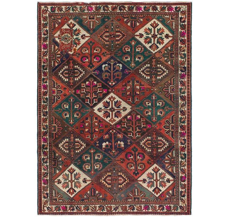 7' 3 x 10' Bakhtiari Persian Rug