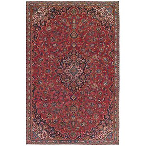 Unique Loom 6' 10 x 10' 6 Mashad Persian Rug