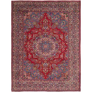 Link to 292cm x 380cm Mashad Persian Rug item page