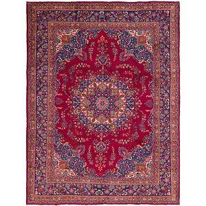 HandKnotted 9' 7 x 12' 9 Mashad Persian Rug