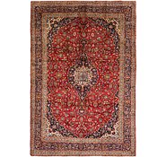 Link to 9' 10 x 14' 3 Kashan Persian Rug