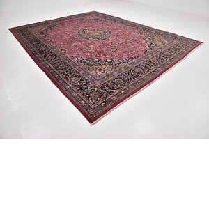 Link to 9' 9 x 12' 7 Mashad Persian Rug item page