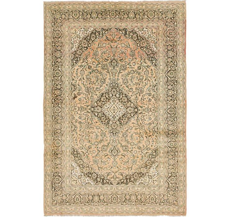 9' 6 x 13' 8 Mashad Persian Rug