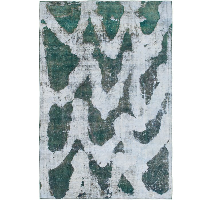 218cm x 330cm Ultra Vintage Persian Rug