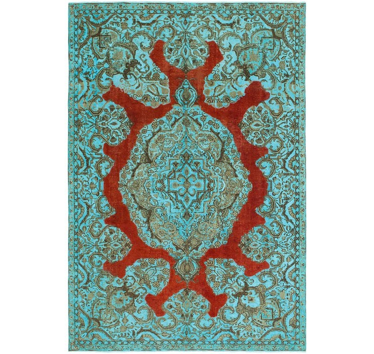 7' 3 x 10' 9 Ultra Vintage Persian Rug