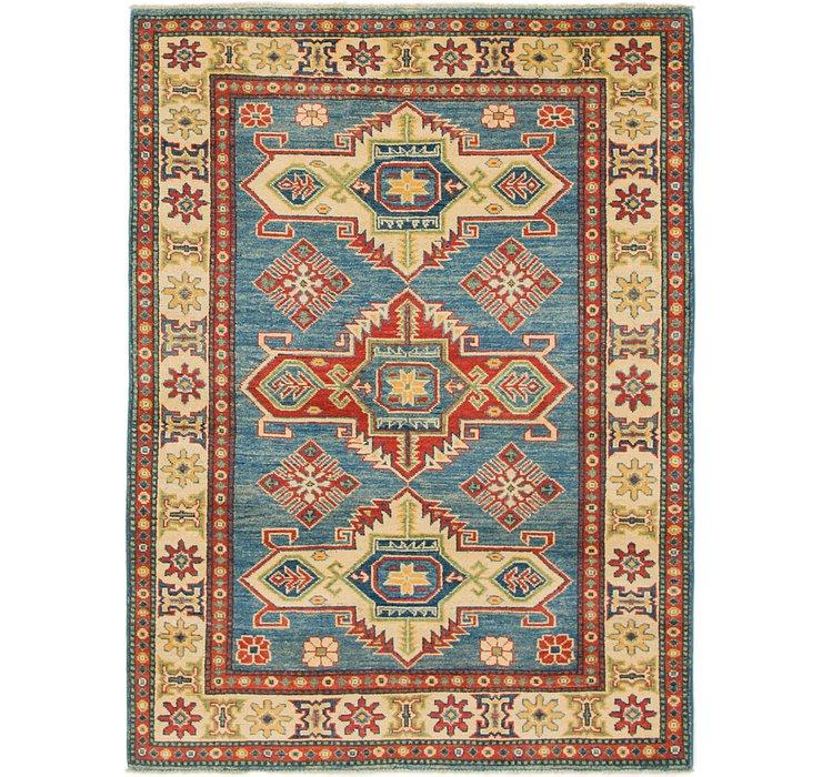 4' x 5' 4 Kazak Rug