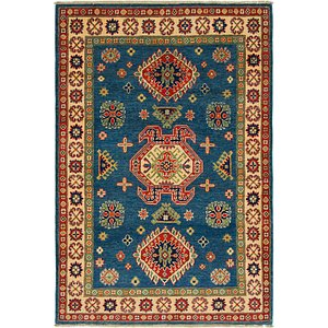 Link to 4' x 6' Kazak Rug item page