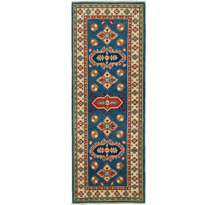 2' 2 x 5' 10 Kazak Runner Rug