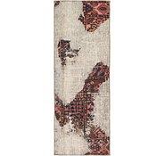 Link to 90cm x 250cm Ultra Vintage Persian Runner Rug