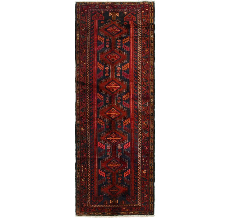 3' 5 x 9' 6 Ardabil Persian Runner ...