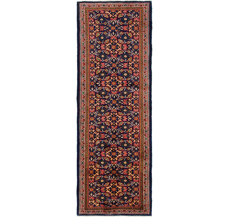 HandKnotted 3' 8 x 10' 6 Mahal Persian Runner Rug