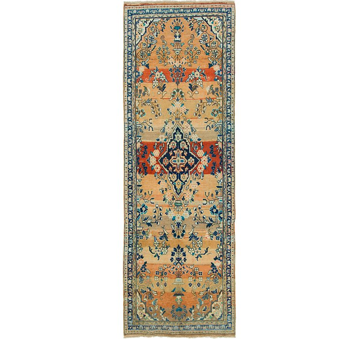 3' 7 x 10' 7 Mahal Persian Runner Rug
