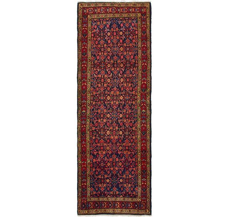 3' 8 x 10' 9 Mahal Persian Runner Rug