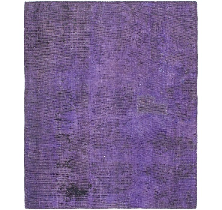 100cm x 122cm Ultra Vintage Persian Rug